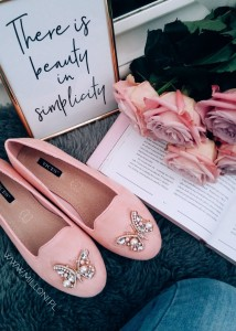 Buty Lordsy BUTTERFLY Pink
